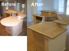 Granite Before & After